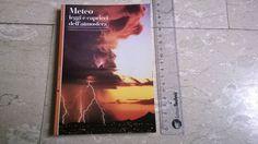 #meteo #scienza #natura #libri Meteorologia Natura* Renè Chaboud METEO leggi e capricci dell'atmosfera *libro
