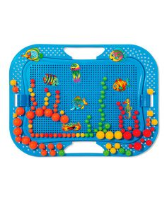 Take a look at this Fanta Color Aquarium Peg Set by Quercetti on #zulily today! $15 !!