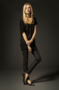 ......simple black outfit