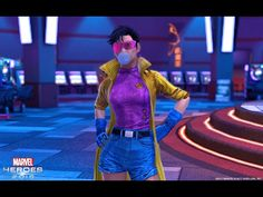 Beast and Jubilee Join the Fight in Marvel Heroes 2016 - YouTube