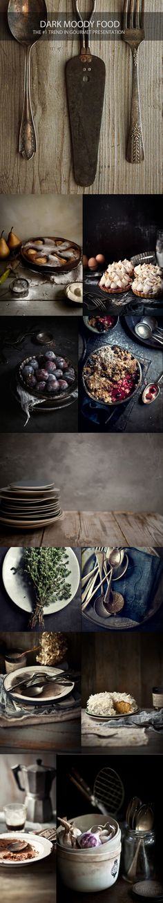 Katie Quinn Davies I Dark Moody Food Photography