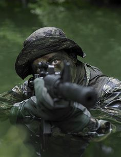 Special Operations Forces Soldier