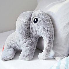 Knuffel elphee de olifant grijs XL - Done by Deer