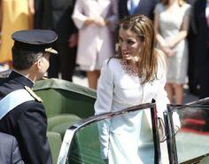 Fotos: Letizia y las infantas en la coronación