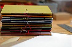 Simple handmade journals