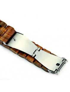 Náramkové drevené hodinky sú tým najluxusnejším, najelegantnejším, okúzľujúcim čo u nás môžete nájsť. Kvalitné spracovanie a kombinácia jedinečného dreva dávajú hodinkám elegantný tvar. S trendy náramkovými hodinkami jednoznačne zaujmete svojich blízkych i obchodných partnerov, alebo priateľov. Náramkové drevené hodinky sú skvelým darčekom, ktorým potešíte srdce svojich blízkych. Proste budete okúzľujúci. Ste originálny a odlíšte sa od ostatných. Jedinečný. Hodinky sú dodávané v elegantnej… Clock Decor, How To Antique Wood, Wooden Walls, Watches, Antiques, Leather, Accessories, Wood Walls, Antiquities