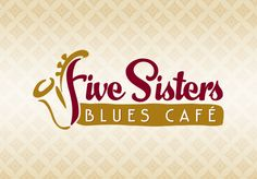 Five Sisters Blues Café logo. (Best new restaurant in Pensacola, FL, by the way!)