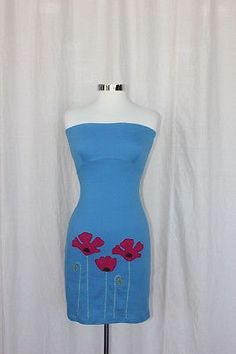 Synergy Organic Clothing Poppy Applique Strapless Dress – Robinsons Nest
