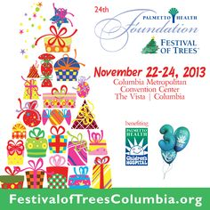 Happy October! This year's #festivaloftrees will take place November 22-24. Buy your tickets to the auction preview party today! #FOTColumbia2013