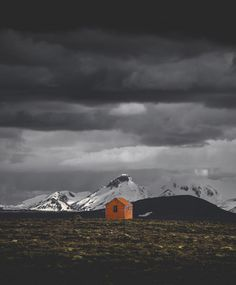 """8,292 Likes, 37 Comments - Icelandair (@icelandair) on Instagram: """"This emergency hut is called Arnarbæli, on the Northern part of the road F35, deep in the Highlands…"""""""