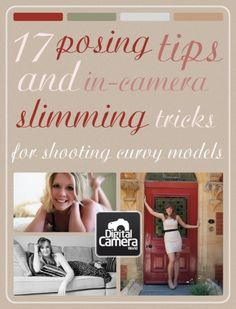 THIS...IS...A...God...Send! 17 posing tips and in-camera slimming tricks for shooting curvy models