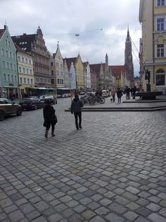 Landshut, great capital of Lower Bavaria