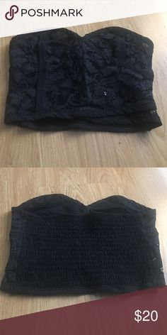 Free people lace Bralette Free People black lace bralette. NWOT Free People Intimates & Sleepwear Bandeaus