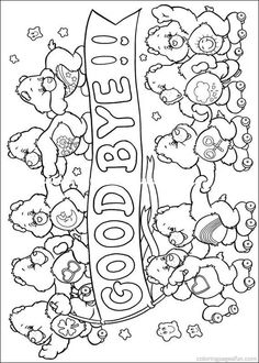 Care Bear color page | Crafty (80\'s Care Bears) Coloring ...