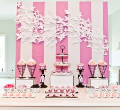 Bridesmaids DVD Blu Ray Photoshoot for Target - Dessert Table