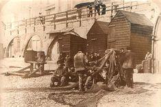 Fishermen at Brighton Beach, late 19th Century