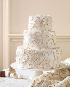 Martha Stewart Lace Cake