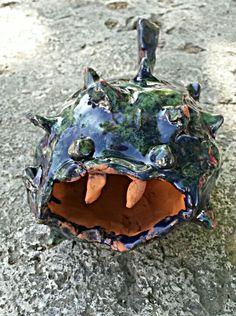 Kugelfisch Idee und Umsetzung auch von einer Sechstklässlerin