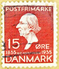 "Denmark 15ø 1935 ""H.C. Andersen"""