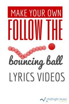 "Make your own ""follow the bouncing ball"" videos with Explain Everything on iPad"