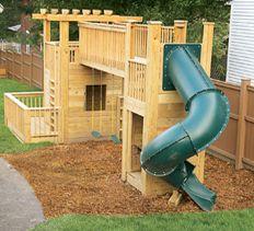 Home Carpentry, DIY Landscaping & Garden - How To Build a Backyard Play Set
