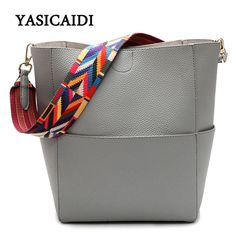 c9887aa88cd6 Luxury Handbags Women Bags Designer Brand Famous Shoulder Bag Female  Vintage Satchel Bag Pu Leather Gray Crossbody Shoulder Bags-in Shoulder Bags  from ...