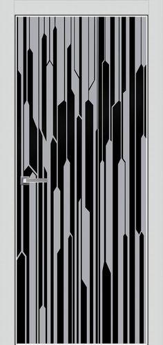 Двери Fineza Puerta : Aluform : ПО ALUFORM 5 стекло AGS Черное Window Security Screens, Security Door, Glass Design, Door Design, Memphis Design, Showroom Design, Modern Door, Carving Designs, Iron Doors