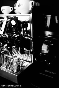 Rocket Espresso Cellini Classic and Rancilio Rocky Grinder