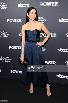 Lela Loren attends the 'Power' Season Two Series Premiere at Best Buy Theater on June 2, 2015 in New York City.