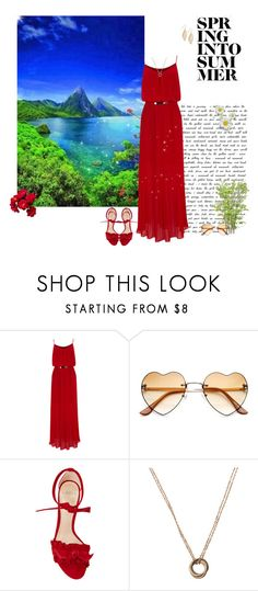 """Summer is near"" by greerflower ❤ liked on Polyvore featuring Oasis, Alexandre Birman and Giani Bernini"