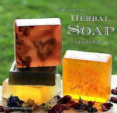 How to Make Soap Without Lye (Sort of)  (How to Work with Melt & Pour Soap Bases)