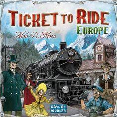 Days of Wonder Ticket to Ride Europe Board Game