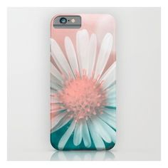 Flower iPhone & iPod Case ($35) ❤ liked on Polyvore featuring accessories, tech accessories and iphone & ipod cases