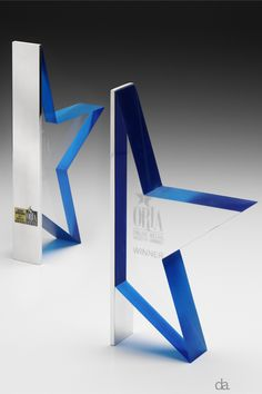 ORIAs -custom shaped acrylic, custom coloured with aluminium plating #custommade…