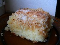Kokosový koláč Vanilla Cake, Grains, Food, Essen, Yemek, Eten, Meals