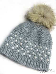 Ravelry: Pearly hat pattern by Tatyana Fedorova - free knitting pattern