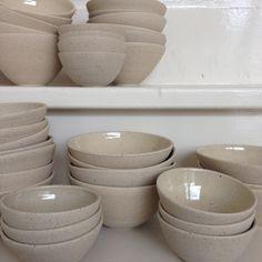Stoneware bowls by Annemieke Boots Ceramics