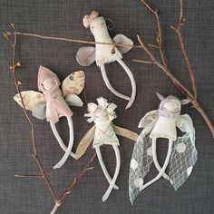 These Little Treasures - Tiny Pixie dolls