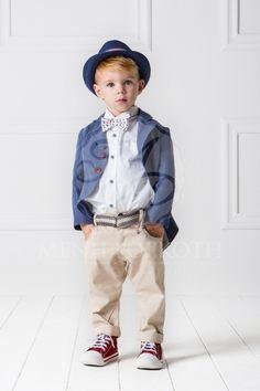 Βαπτιστικά ρούχα για αγόρι της Cat in the hat σετ Freddy