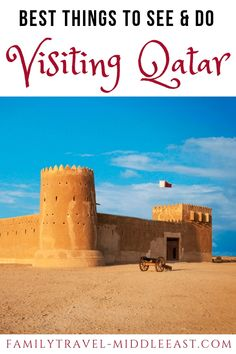 Top tourist attractions, things to do and places to visit in Qatar. From Doha to the desert, things you won't want to miss on a stopover via DOH Amazing Destinations, Travel Destinations, Africa Destinations, Travel With Kids, Family Travel, Qatar Travel, Jordan Travel, Day Tours, World Heritage Sites