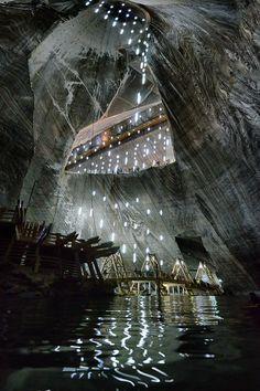 Salina Turda - ancienne mine de sel transylvania romania