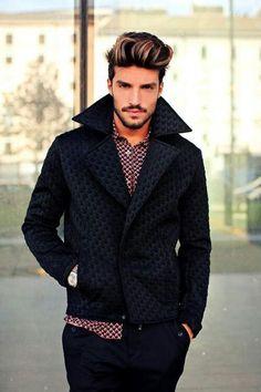 Patterned shirt & jacket