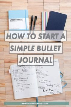 How to start a simple bullet journal without becoming overwhelmed. How To Bullet Journal, Bullet Journal Printables, Bullet Journal Layout, Bullet Journal Inspiration, Bullet Journals, Beginner Bullet Journal, Journal Prompts, Journal Pages, Journal Ideas