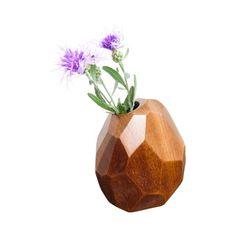 Humphrey Bud Vase in Sapele
