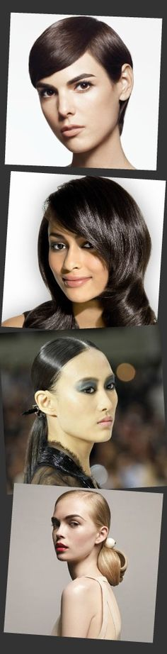 Polished hair is hot for 2012