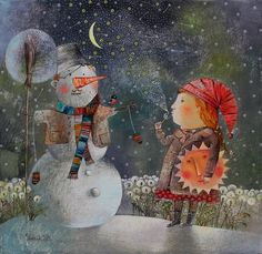 Зимние Одуванчики 2014 by Anna Silivonchik