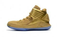 separation shoes 1bfb9 14670 Air Jordan XXXII Mens Basektball shoes Gold Basketball Shoes, Men s  Basketball, Basketball Uniforms,