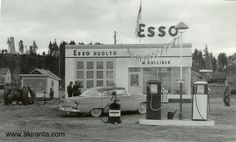 History Of Finland, Map Pictures, Old Gas Stations, My Land, Old Ads, 12 Year Old, Historian, Helsinki, Old Photos