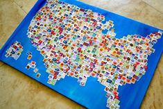 love stamp map