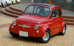 The Abarth has changed a lot over the years!